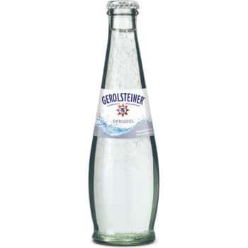 Gerolsteiner Sprudel 25cl Glas Retour