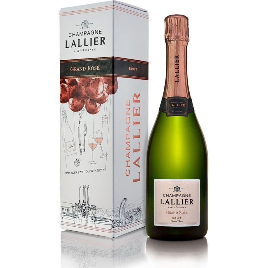 Champagne Lallier, Grand Rosé Grand Cru