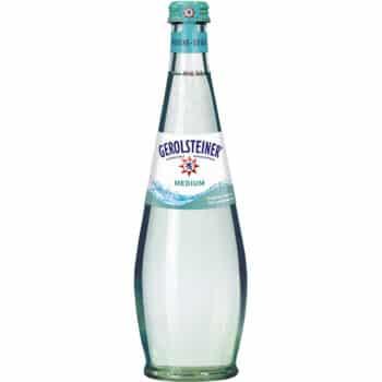 Gerolsteiner Medium 75cl Glas Retour