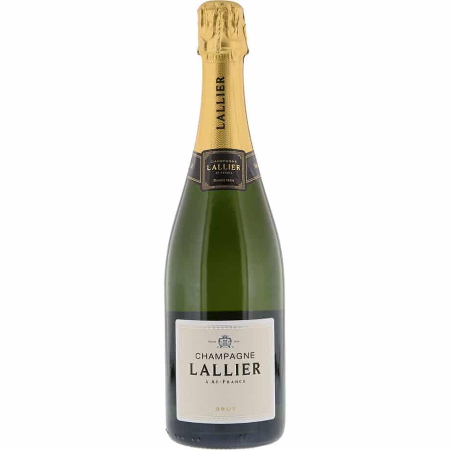 Champagne Lallier, R. Brut Demi
