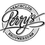 Perry's logo def zwart